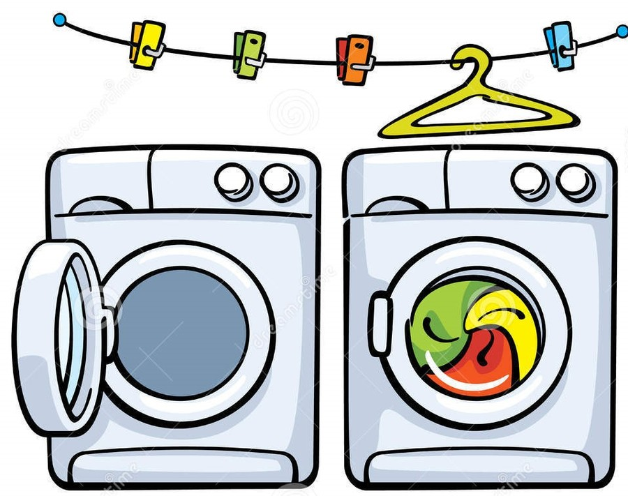 Download washer and dryer clipart Clothes dryer Washing.