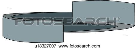 Clip Art of Lock Washer u18327007.