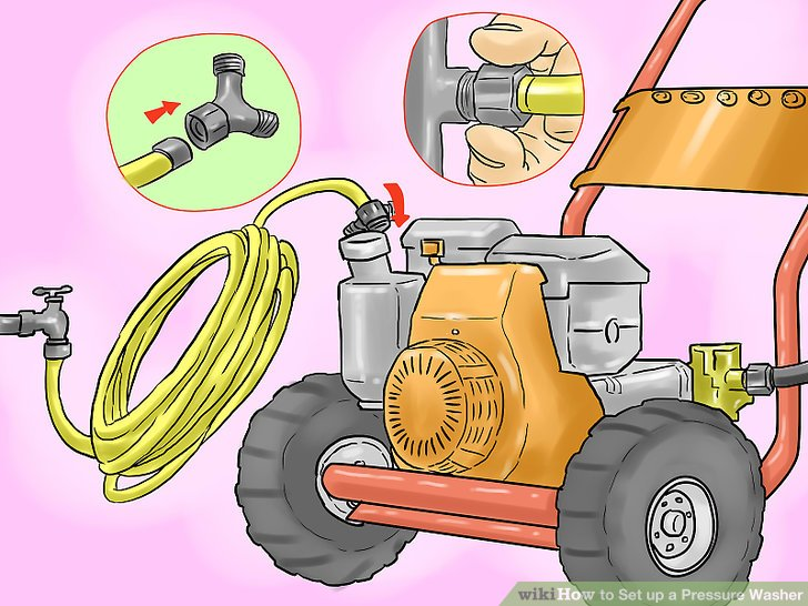 How to Set up a Pressure Washer: 12 Steps (with Pictures).