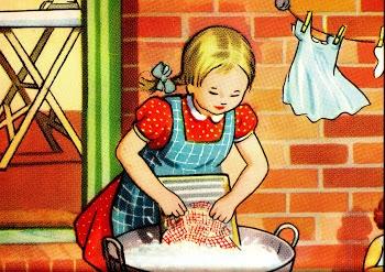 The Washerwoman.