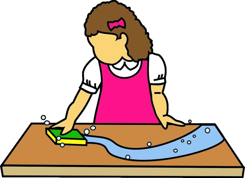 Wash Table Clipart.