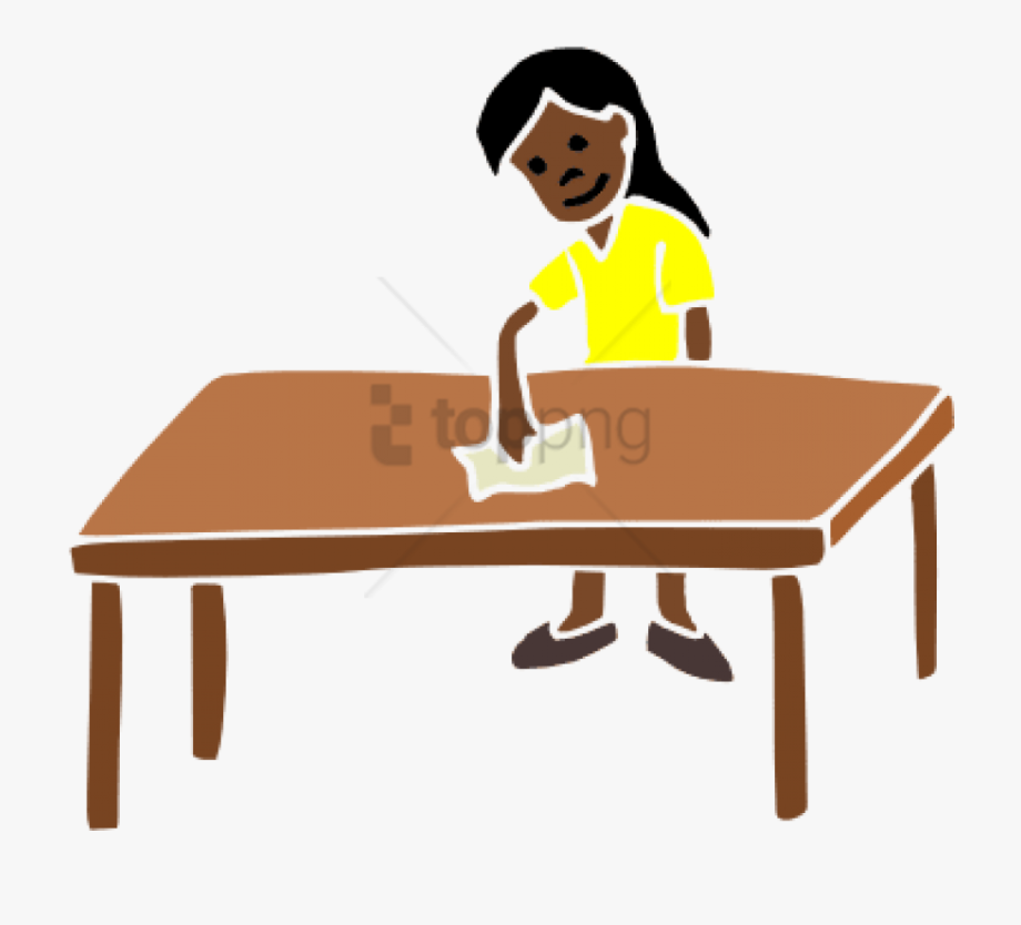 Free Png Download Wiping Tables Png Images Background.