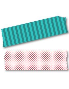 Washi Tape Clipart.