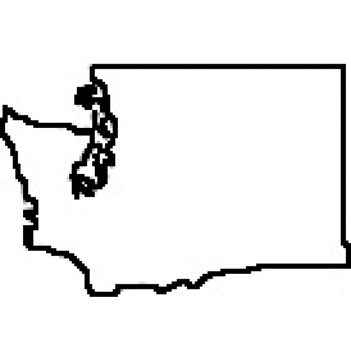 Washington State Outline Clipart#2188955.