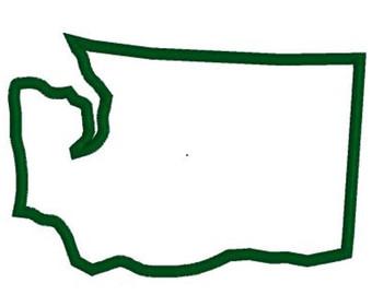 Washington outline.