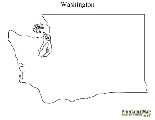 washington state regions unit 4th grade.