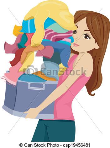 Laundry bag Clipart Vector Graphics. 243 Laundry bag EPS clip art.