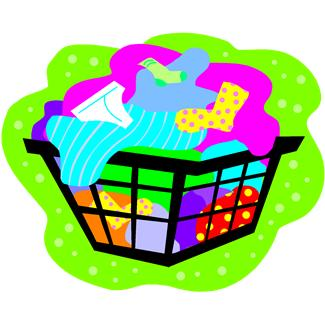Dirty Laundry Clipart.