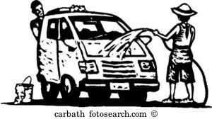 Washing Car Clipart Black And White 20 Free Cliparts Download