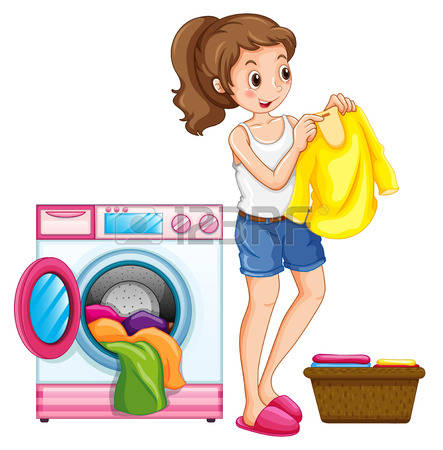 4,608 Washing Clothes Cliparts, Stock Vector And Royalty Free.