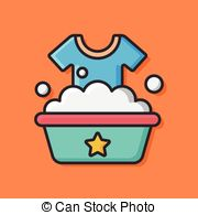 Washing clothes Stock Illustrations. 4,705 Washing clothes clip.