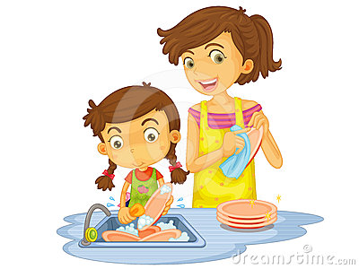 Washing Dishes Clipart Clipground