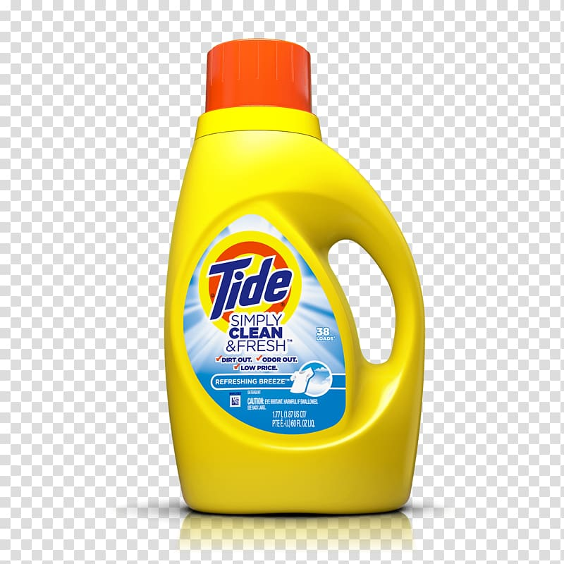 Tide Laundry Detergent Odor Cleaning, others transparent.