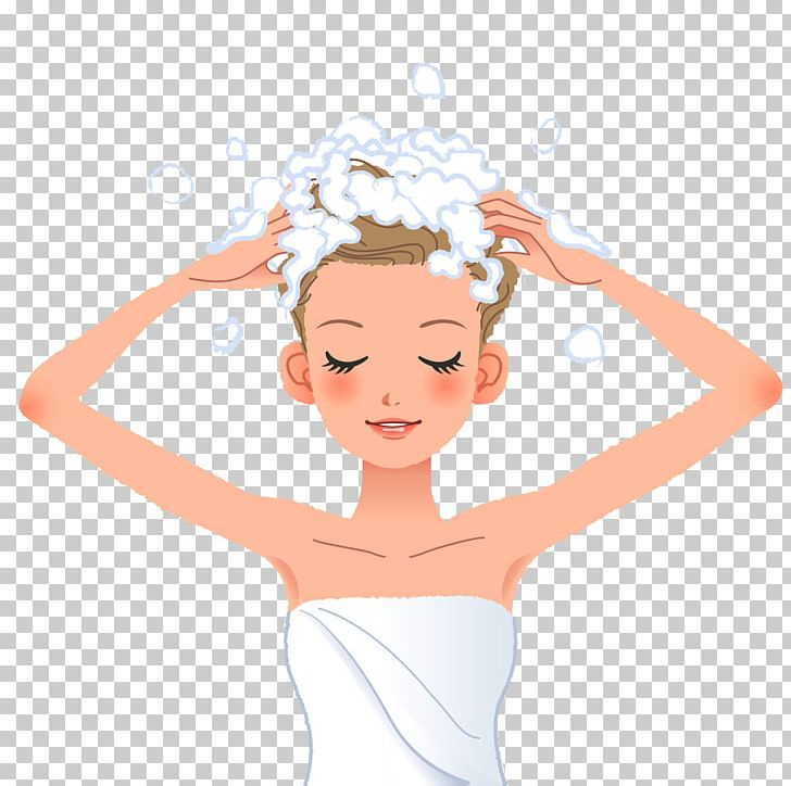 Shampoo Hair Washing PNG, Clipart, Arm, Black Hair.