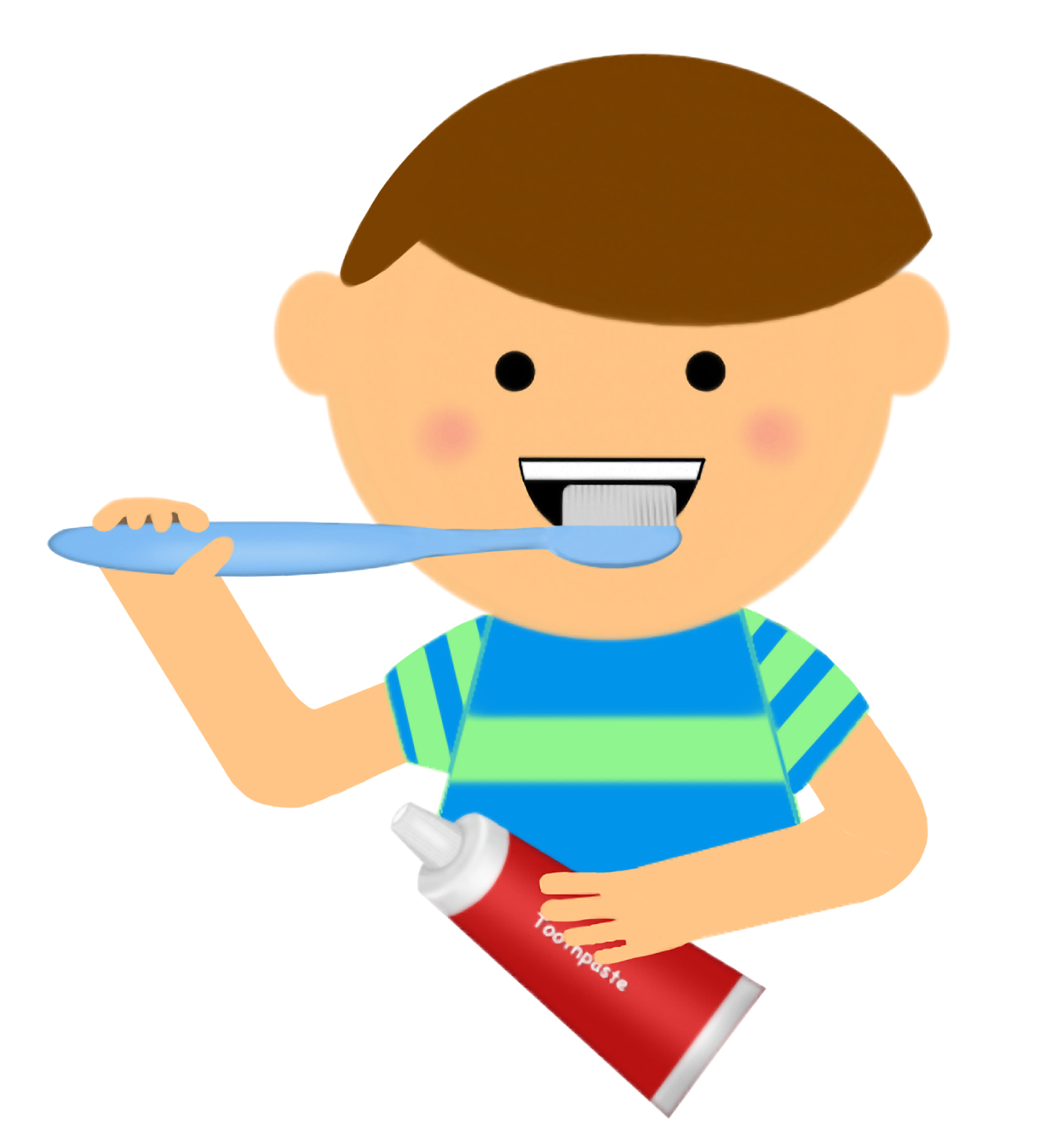 Comb clipart boy washing face, Comb boy washing face.