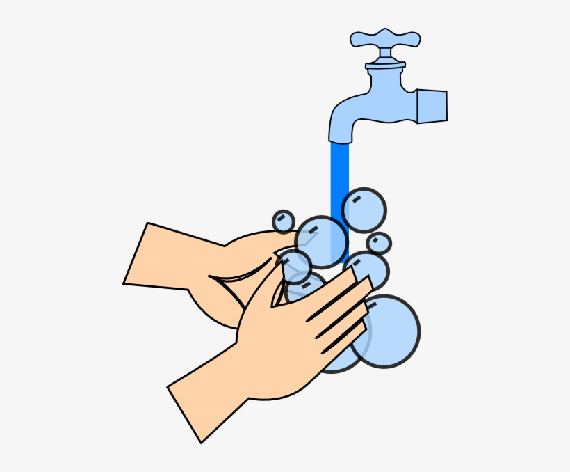 Washing Hands Clip Art At Clker Com Vector Clip Art.