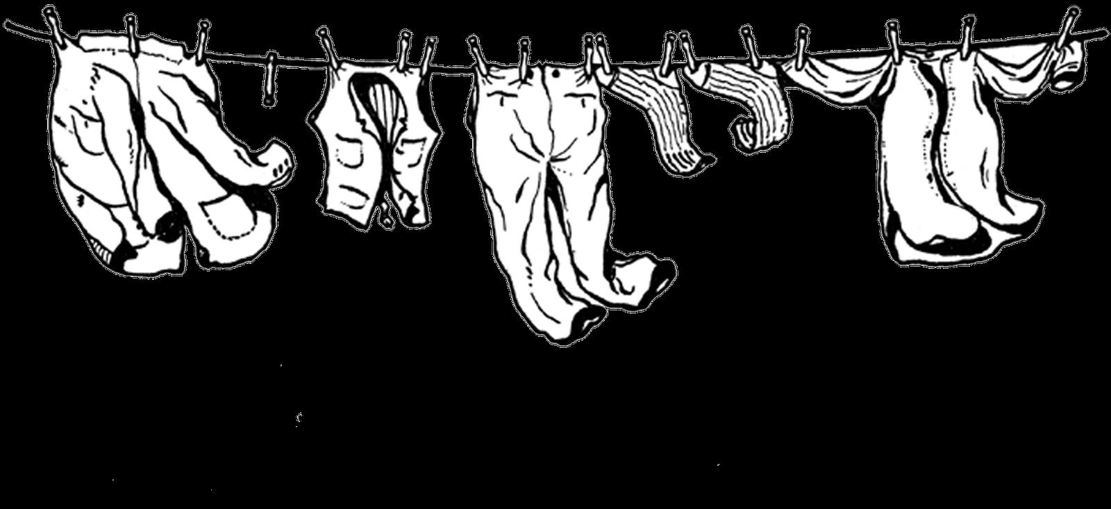 Clothes line Laundry Clothing Clip art.
