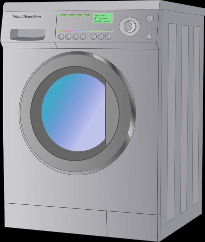 Washing Machine Clip Art Amp Images Free For Commercial Use20 PNG.