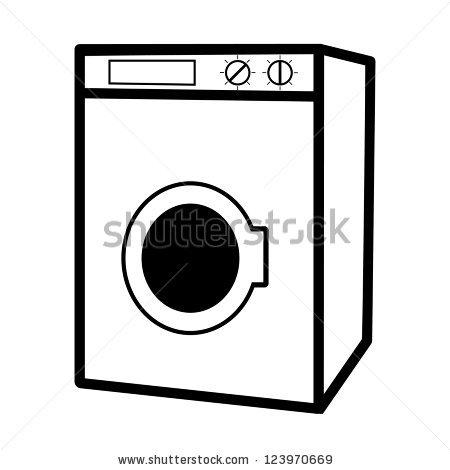 Washingmachine Stock Photos, Royalty.