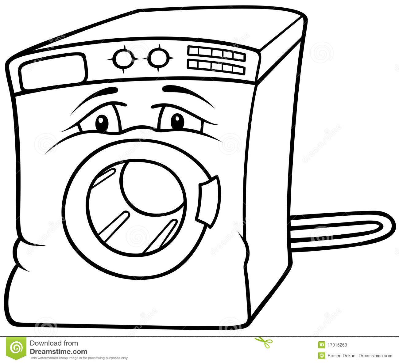Washing Machine Royalty Free Stock Images.