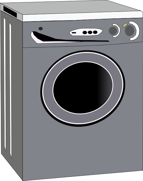 Free Washing Machine Clipart, 1 page of Public Domain Clip Art.