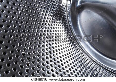 Stock Images of washing machine drum background k4648016.