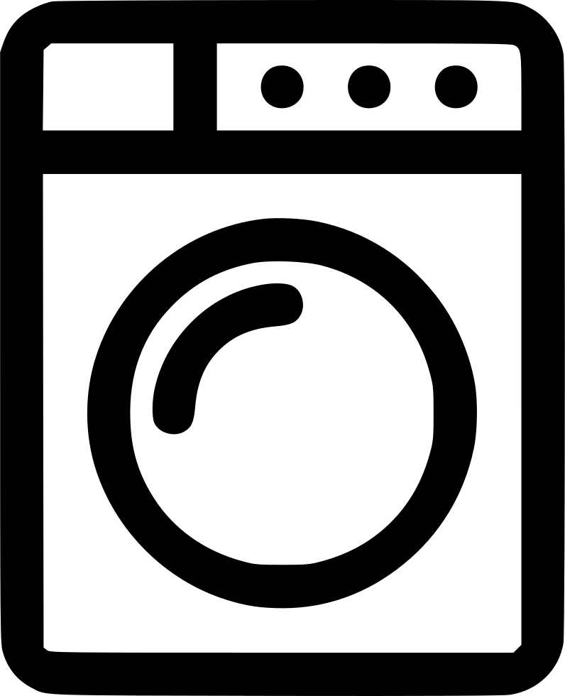 Appliances Clothes Washer Laundry Washer Machine Svg Png.