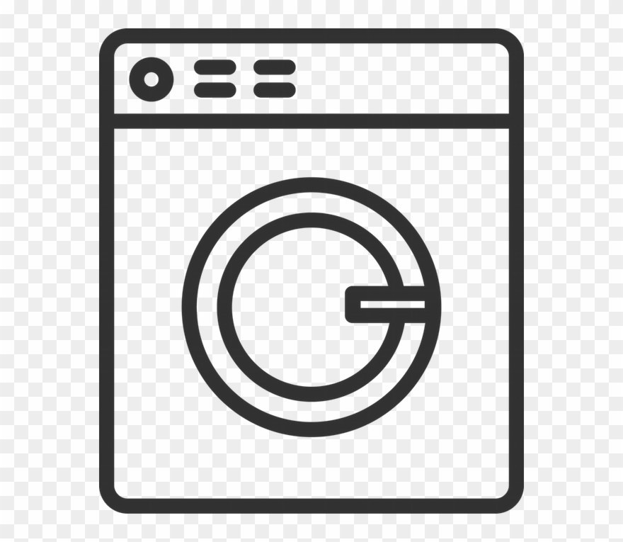 Download Laundry White Png Clipart Washing Machines.