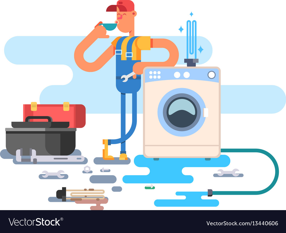 Repair of washing machines.