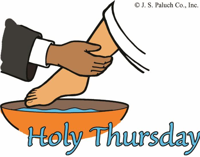 Holy Thursday volunteers needed.