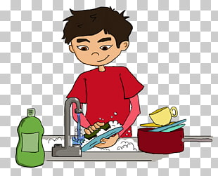 252 washing Dishes PNG cliparts for free download.