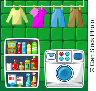 Wash room Stock Illustrations. 3,693 Wash room clip art images and.