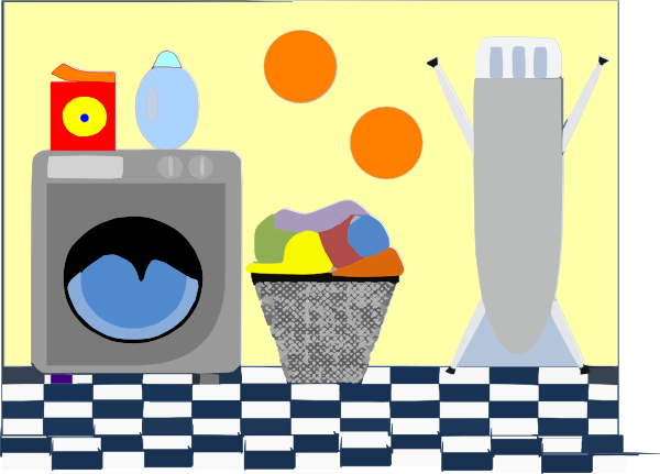 Laundry Room Clip Art at Clker.com.