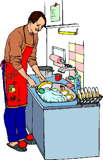 All Cliparts: Washing up Clipart.