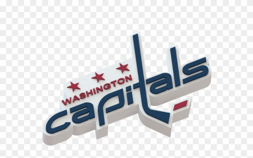 Washington Capitals Logo 3d Print.