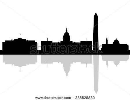 Washington Dc Skyline Stock Images, Royalty.