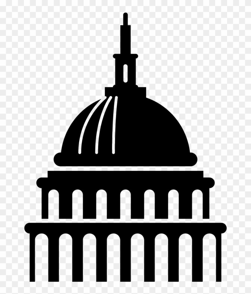 Washington Dc Capitol Building Png.