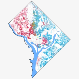 Map Of Washington Dc 8 Wards #2752511.