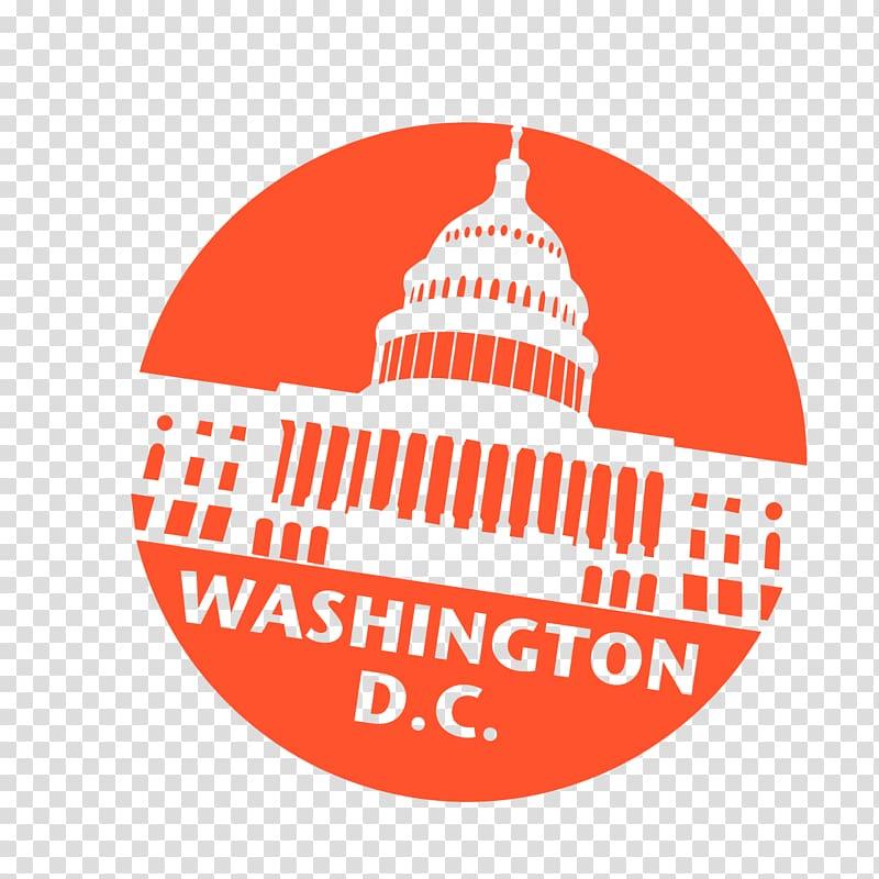 Flag of Washington, D.C. Northern Virginia Passport stamp.