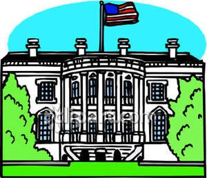 Washington Dc White House Clipart.