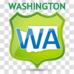 US State Icons, WASHINGTON, Washington logo transparent.
