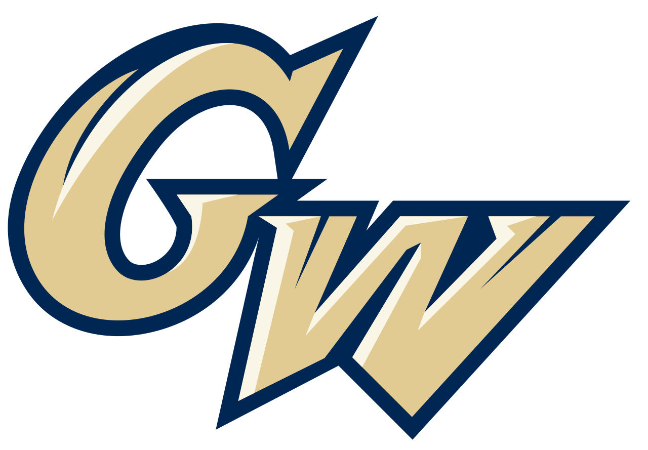 File:George Washington Colonials logo.svg.
