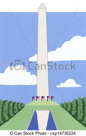 Washington monument Stock Illustrations. 401 Washington monument.