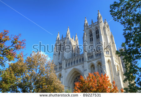 National Cathedral Stock Photos, Royalty.