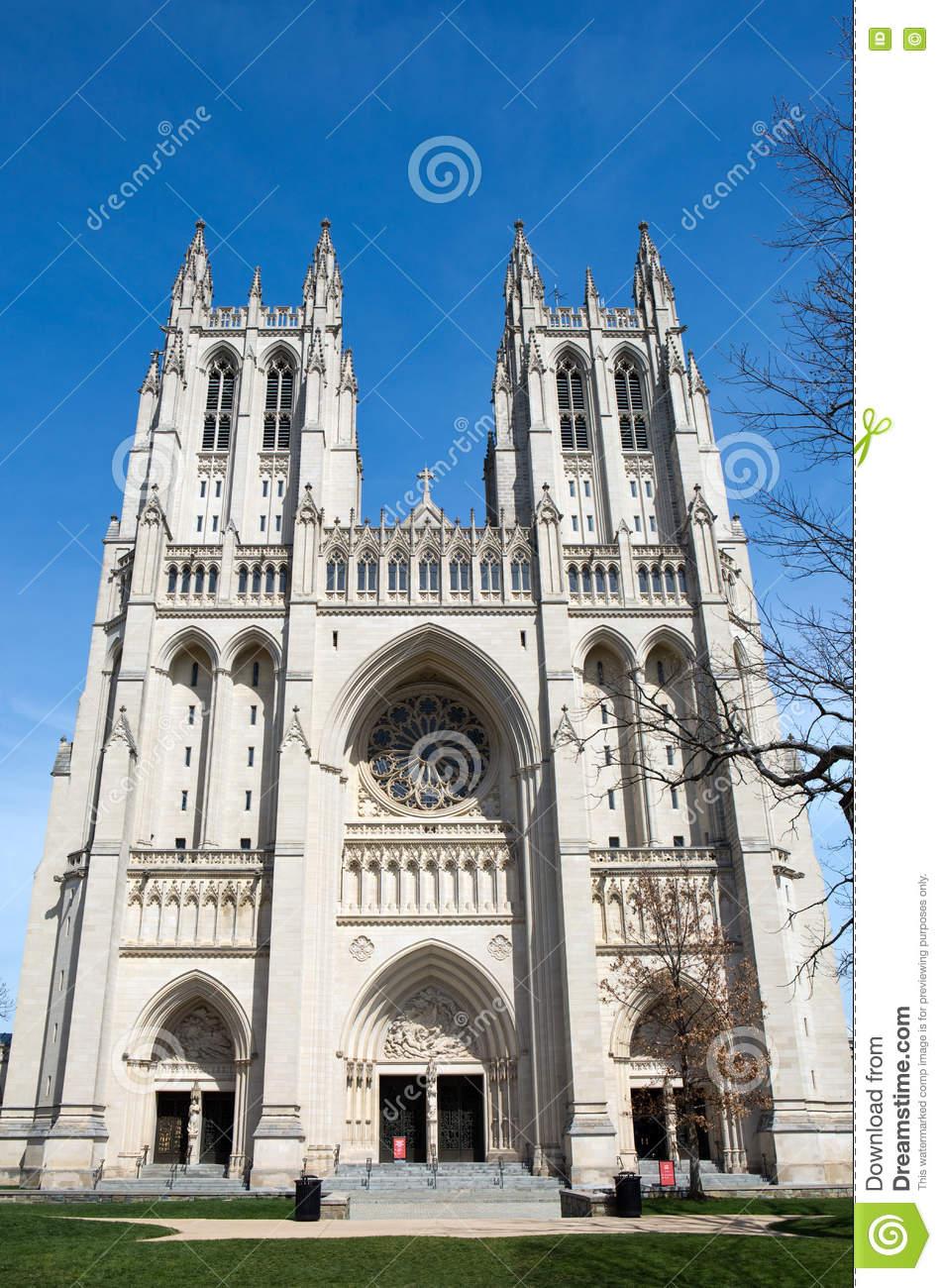 Washington National Cathedral USA Stock Photo.