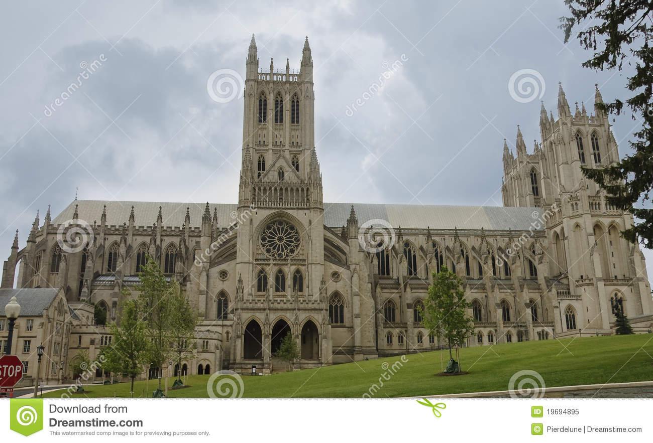 Washington National Cathedral Royalty Free Stock Photo.