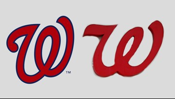 Can you tell the difference between Nats and Walgreens logo.