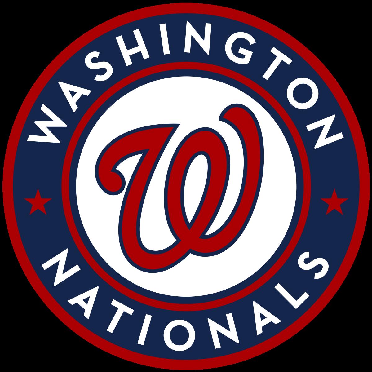 Washington Nationals Logo PNG Image.
