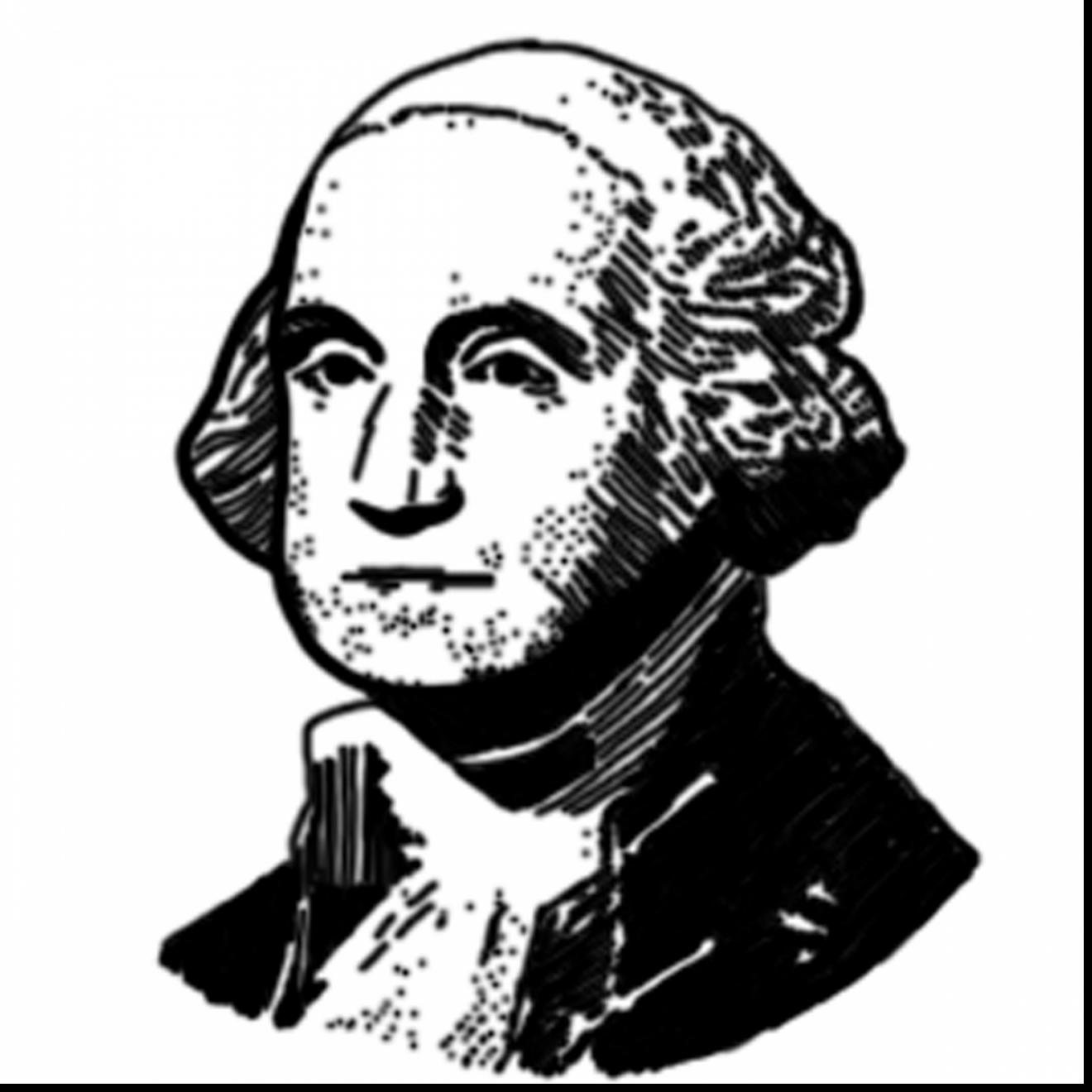 Outstanding palm tree coloring pages with george washington.