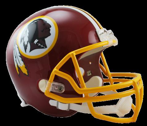 Washington Redskins VSR4 Replica Helmet.